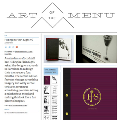Art of the MENU