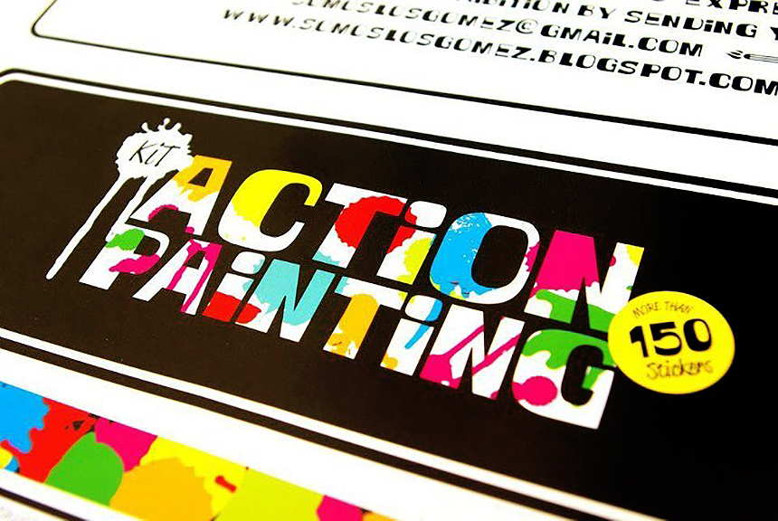 action painting 2