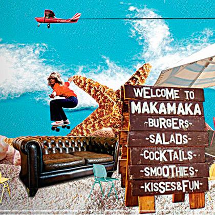 Flyer Makamaka Burger Café